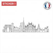 Sticker-Milan