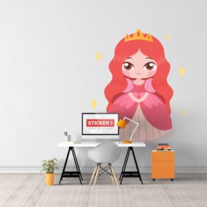 Sticker Mini Princesse
