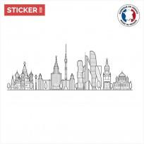 Sticker-Moscou