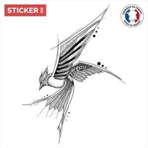 Sticker Oiseau Perçant