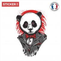 Sticker Panda Scarface