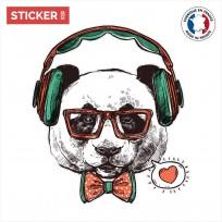 Sticker Retro Panda