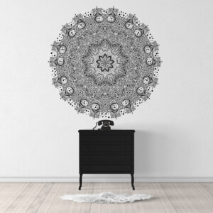 Sticker-Rosace-Mandala