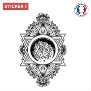 Sticker-Rose-Mandala