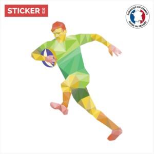 Sticker Rugbyman