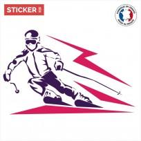 Sticker Ski Glissade