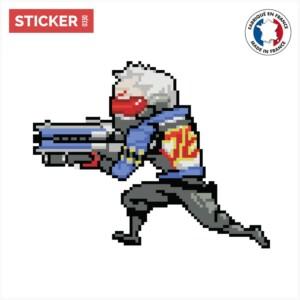 Sticker Soldat Overwatch