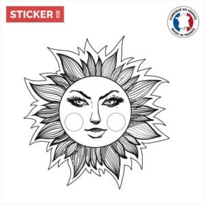Sticker-Soleil-Sourire