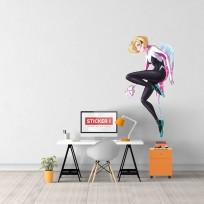 Sticker Spider Gwen