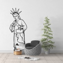 Sticker Statue De La Liberté