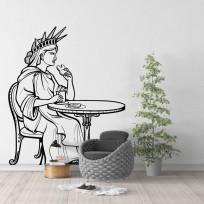 Sticker Statue De La Liberté Mange