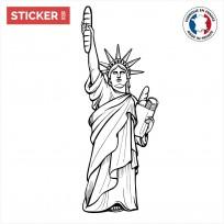 Sticker Statue De La Liberté-Pain