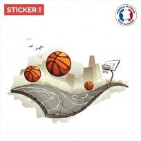 Sticker Street basket