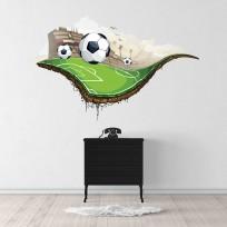 Sticker Terrain Football