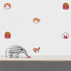 Stickers Sushi Kawaii