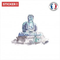 sticker Statue Bouddha