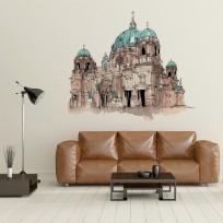 sticker cathedrale de berlin
