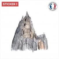 sticker cathedrale de cologne