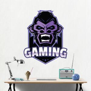 sticker Gaming Gorille