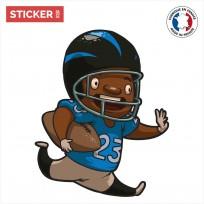 Sticker Garçon Football Américain
