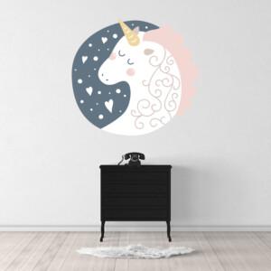 Sticker Licorne Nocturne