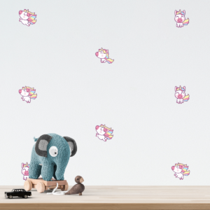 Sticker Mini Licorne Kawaii
