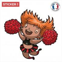 Sticker PomPom Girl