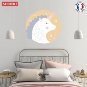 Sticker Splendide Licorne