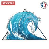 Sticker Vague Japonaise