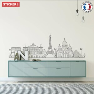 Sticker Ville Paris