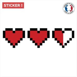 Sticker Zelda Coeur