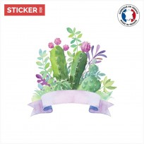 Sticker Cactus Composition