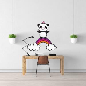 Sticker Panda Heureux
