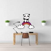 Sticker Arc En Ciel Panda
