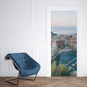 sticker porte vue sur mer