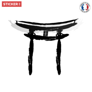 Sticker-Torii-Arc-Japonais
