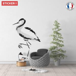 Sticker-Grue-Japonaise