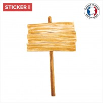 Sticker Panneau d'Affichage