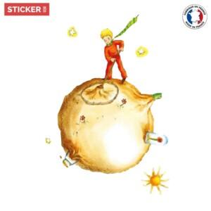 Sticker-Petit Prince-Lune