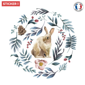 Sticker-lapin-laurier-01
