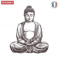Sticker-zen-bouddha-classic