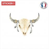 sticker-crâne-taureau-01-vignette