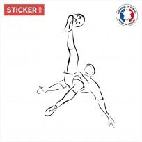 Sticker Footballeur Figure