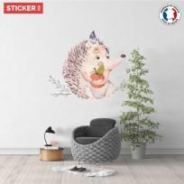 sticker-hérisson-aquarelle-02