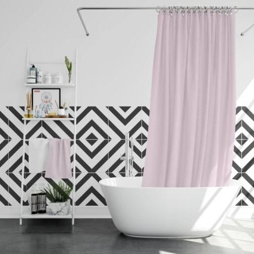 Stickers Carreaux de Ciment Scandinave Salle de bain