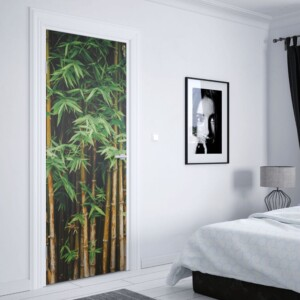sticker porte bambou