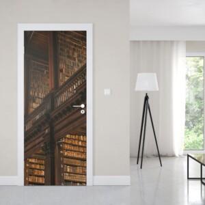 sticker porte bibliothèque Harry Potter