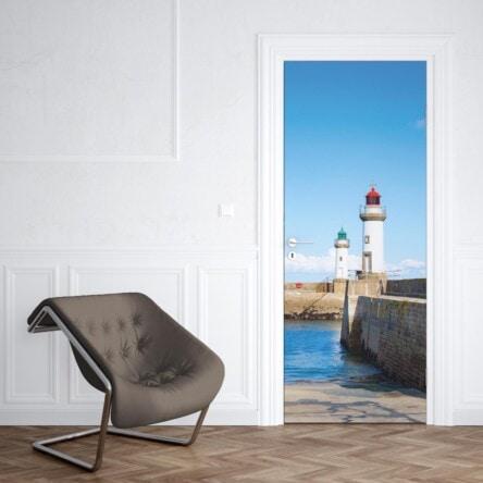sticker porte phares belle ile en mer