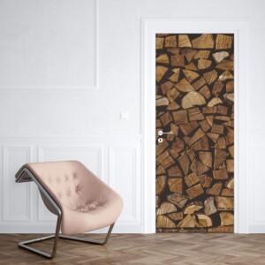 Sticker Porte Stere de Bois