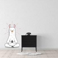 Sticker lama zen